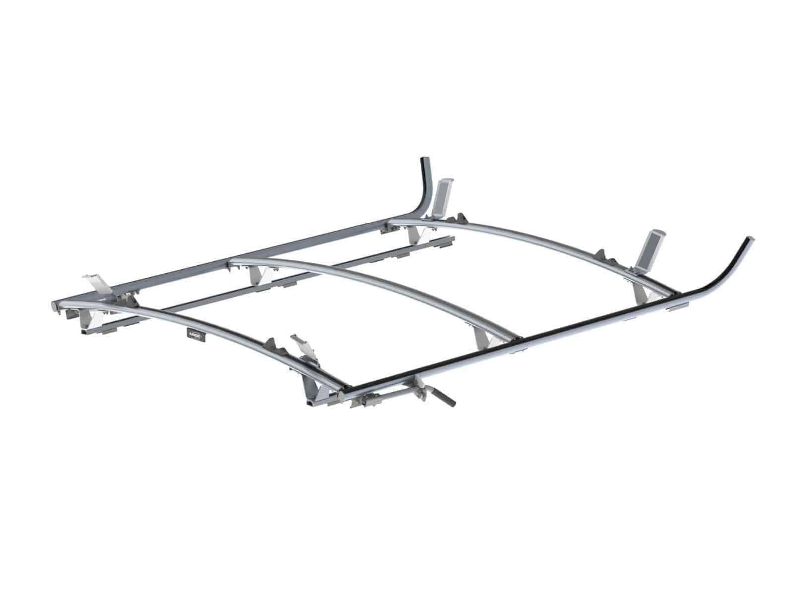 Double Side Ram Promaster Ladder Rack 3 Bar System