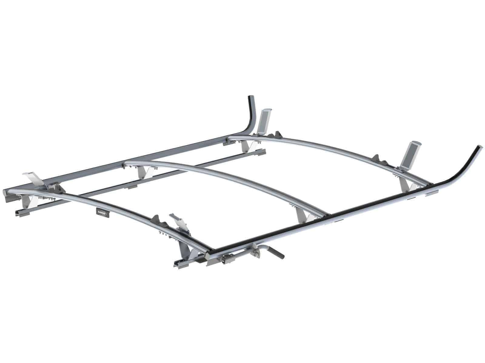 Double Side Ram ProMaster Ladder Rack, 3 Bar System