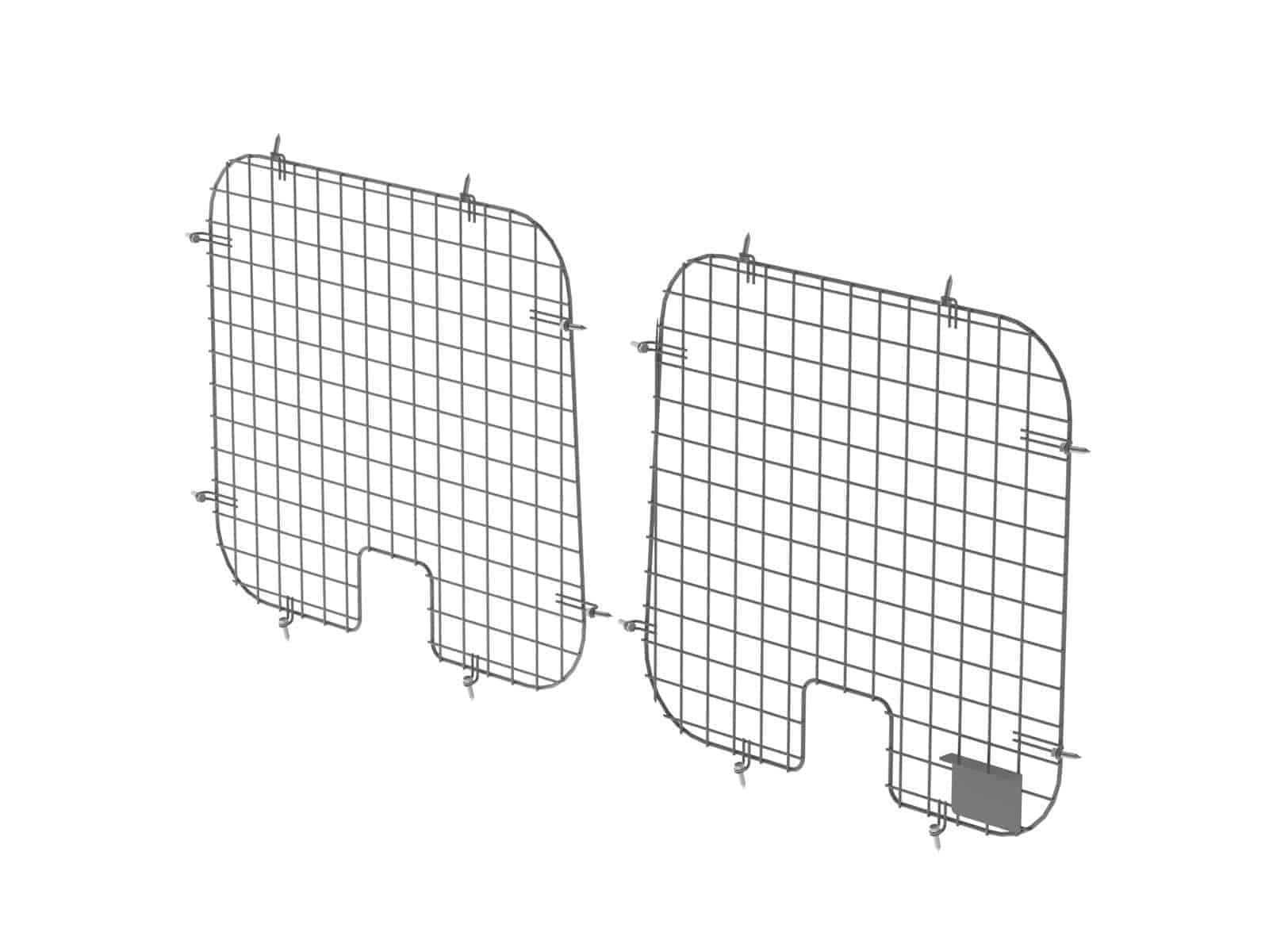 Window Grill Set, Ford E-Series, 2 Rear (DISCONTINUED