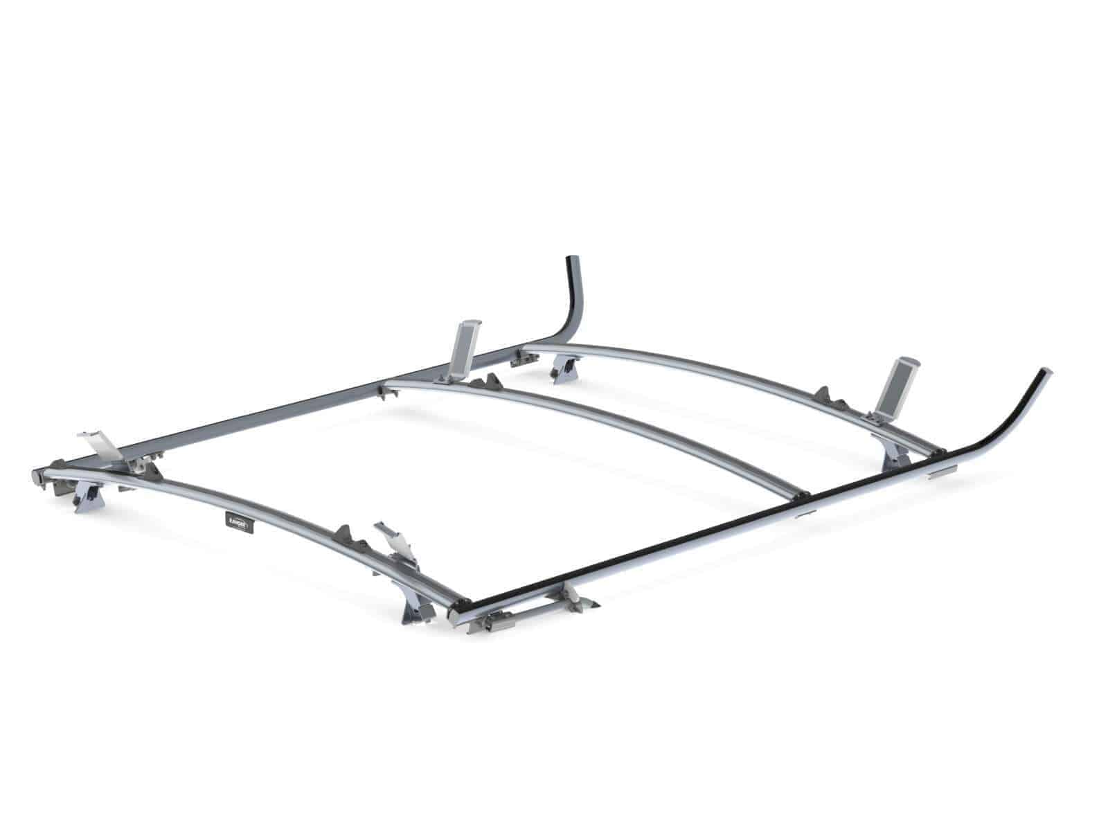 Combination Ladder Rack, Aluminum, 2 Bar, GM/Ford Full