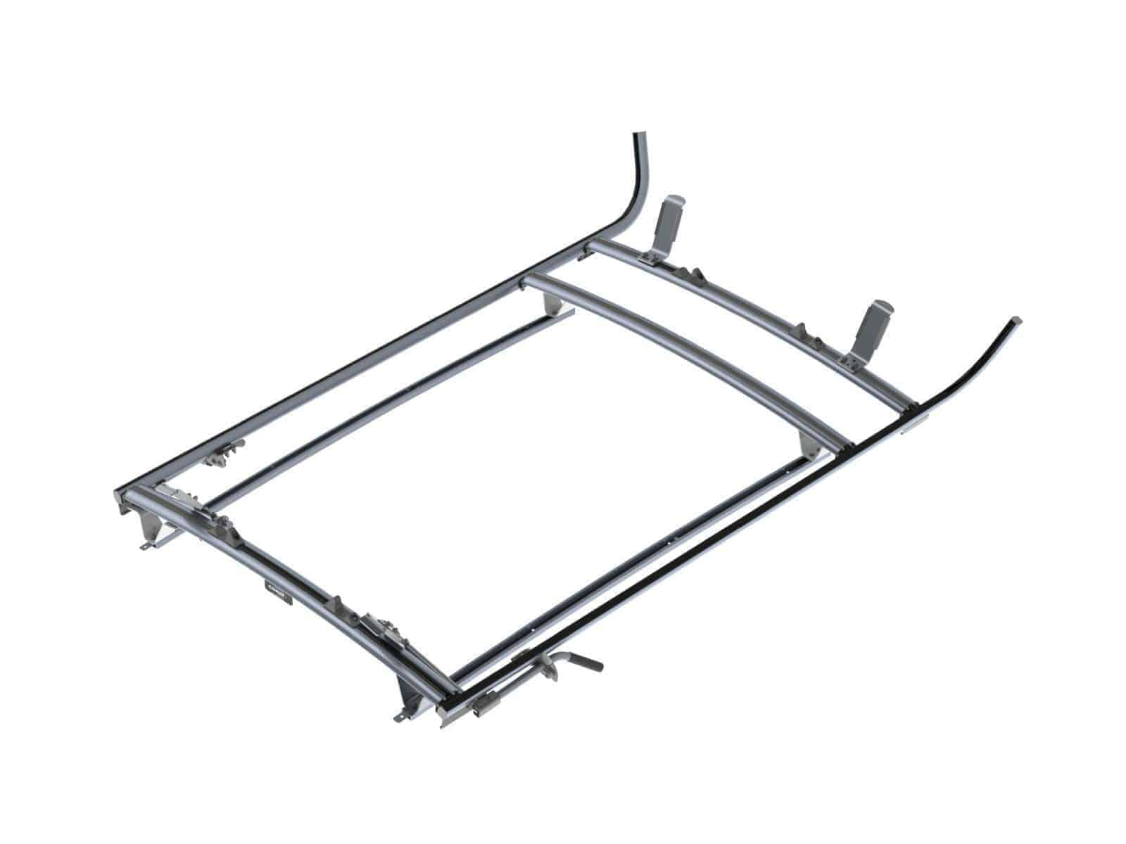 Double Clamp Ladder Rack Aluminum 3 Bar Nissan Nv200
