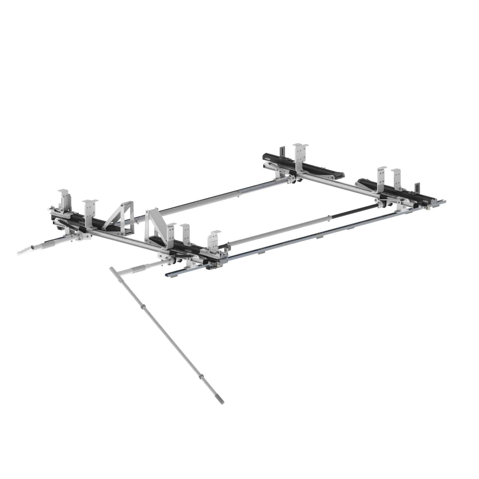 Max Rack 2 0 Drop Down Ladder Rack Double Side Ram