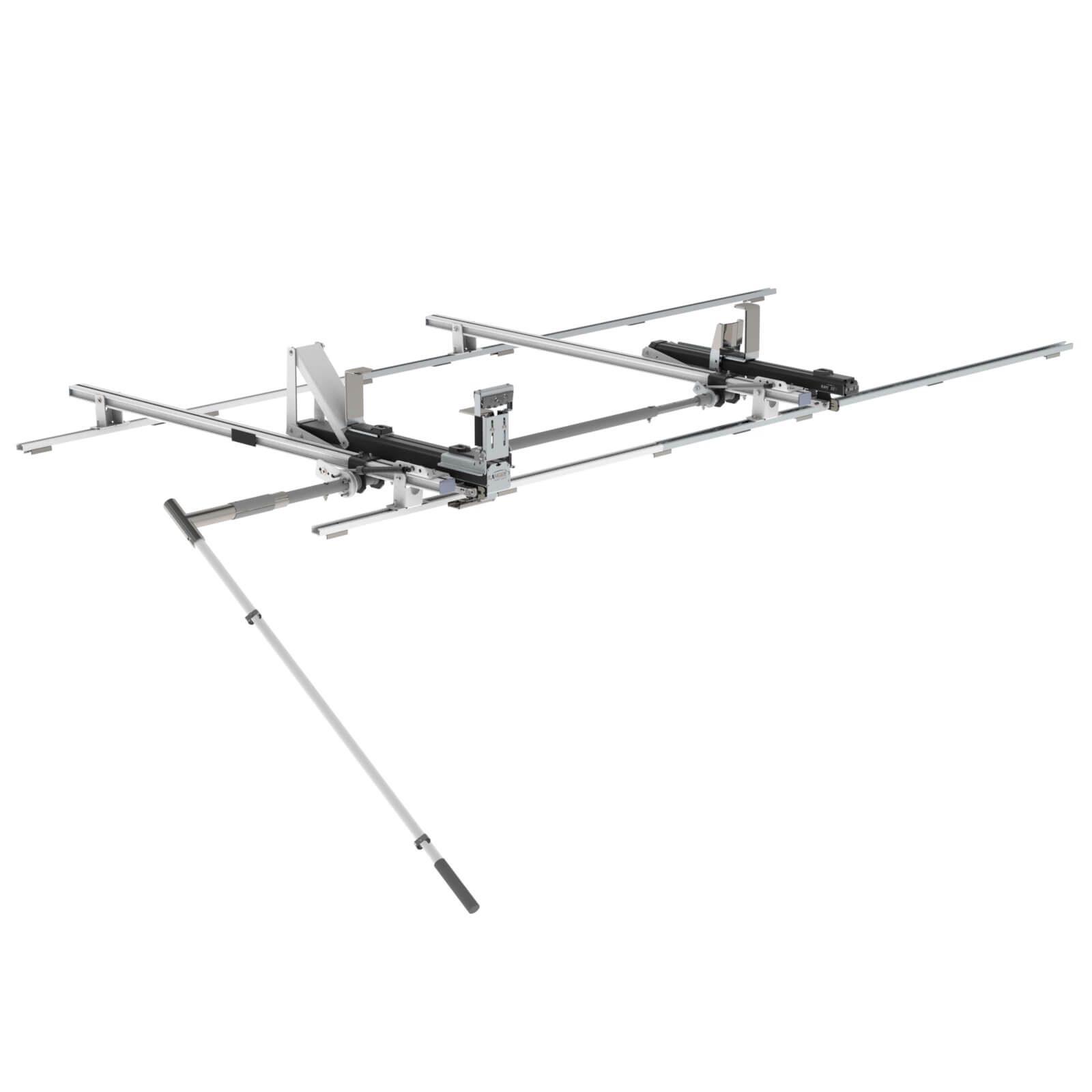 Max Rack 2 0 Drop Down Ladder Rack Single Side Ram