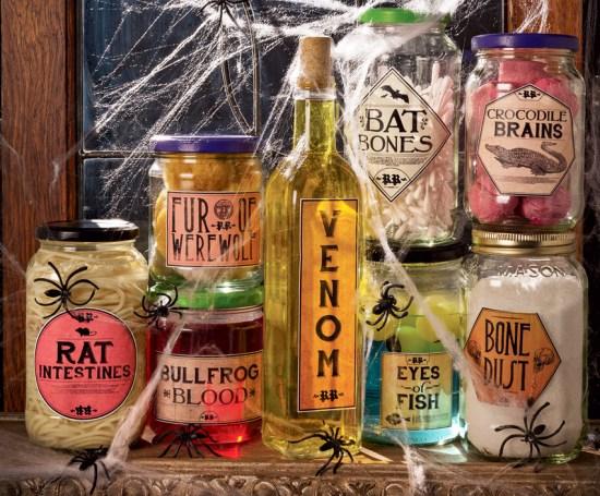 Spooky Specimen Jars photo by Mark Godfrey