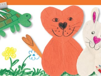 Valentines Animals Craft