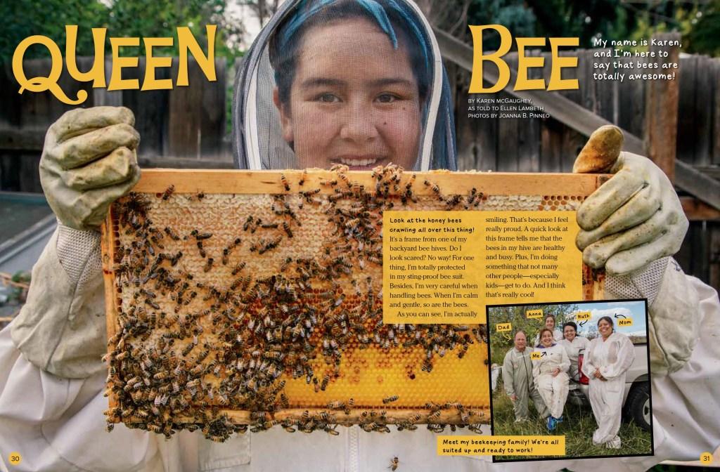 Queen Bee Ranger Rick June July 2017 1
