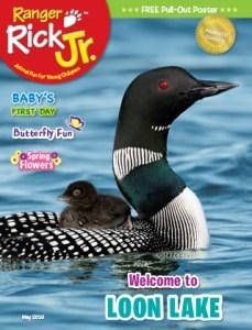 Ranger Rick Jr May 2016 Cover