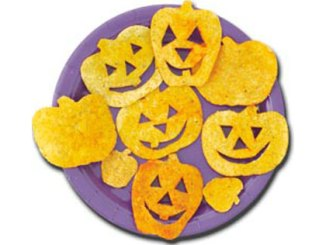 Tortilla Chip Pumpkins
