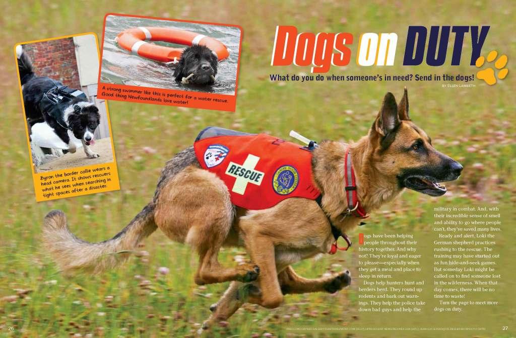 Ranger Rick Dogs on Duty August 2014 1