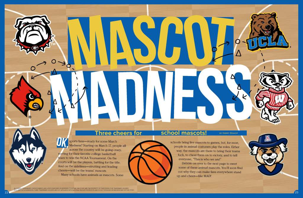 Ranger Rick Mascot Madness March 2015 1