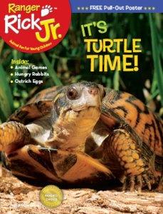 Ranger Rick Jr August 2014 Cover