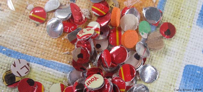 Shiny confetti