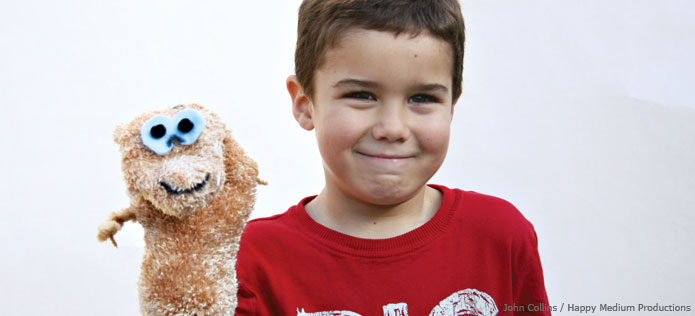 Monkley puppet