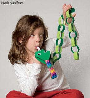 Snake puppet