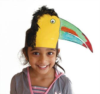toucan headband