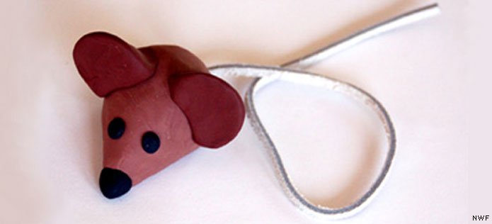 Bookmark mouse craft