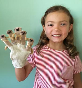 Meerkat glove