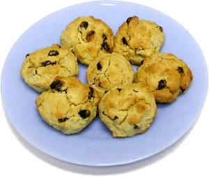Moonrock biscuits