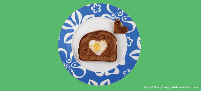 Valentines day egg