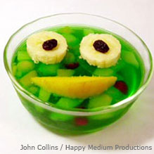 Froggy jello Fruit