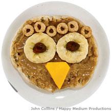 Peanut butter owl