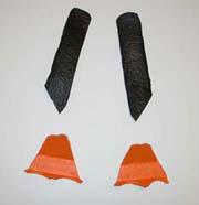 Penguin pencil holder step 2
