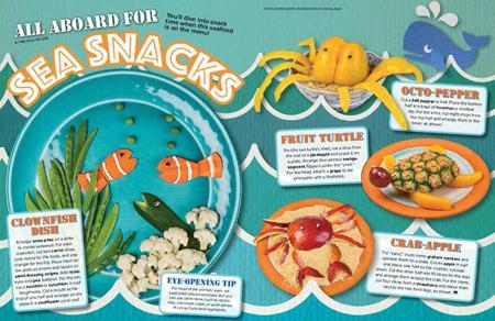 Sea snacks