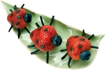 ladybug snack