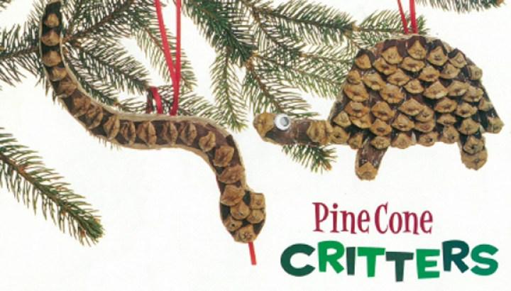 Pine Cone Critters Nwf Ranger Rick