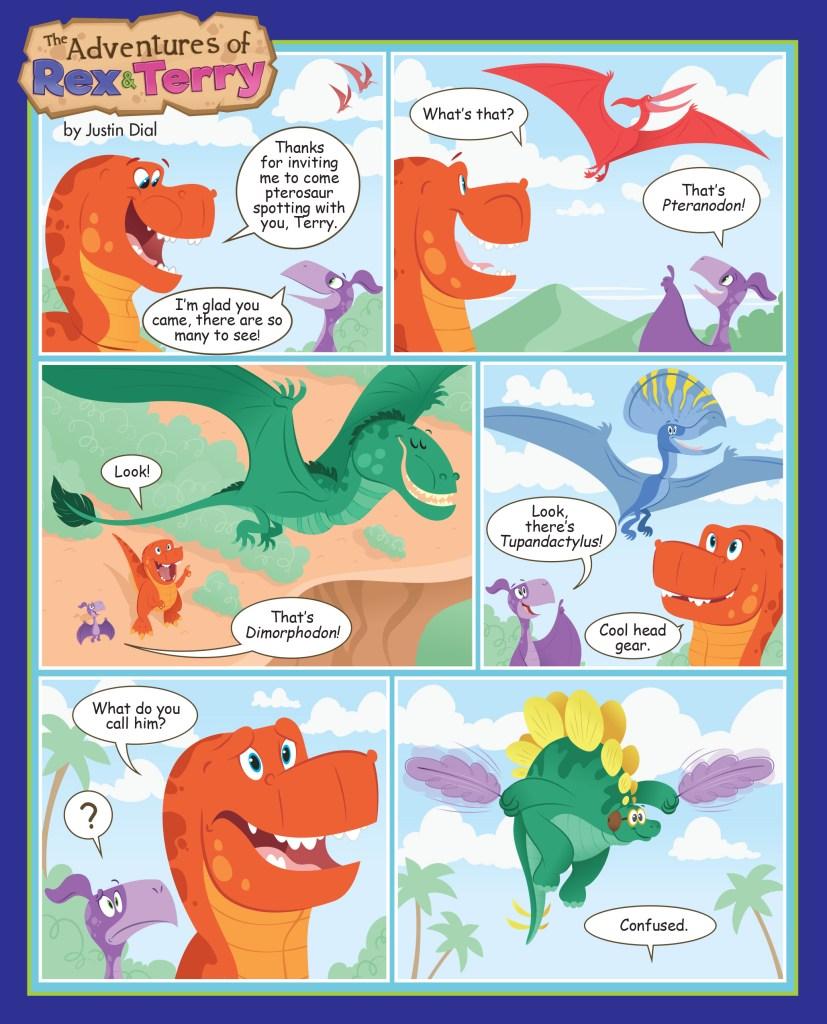 Pterosaur Cartoon