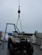 ATV + crane
