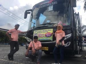 harga sewa bus pariwisata semarang 2019