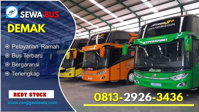 Daftar Harga Sewa Bus Pariwisata Demak
