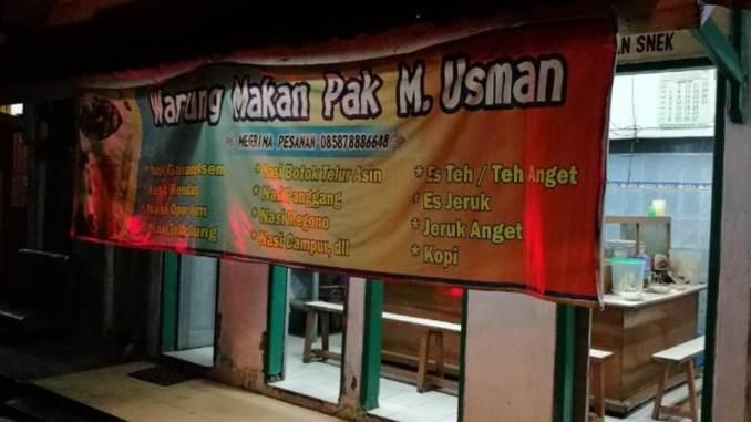 Warung Lesehan Pak Usman