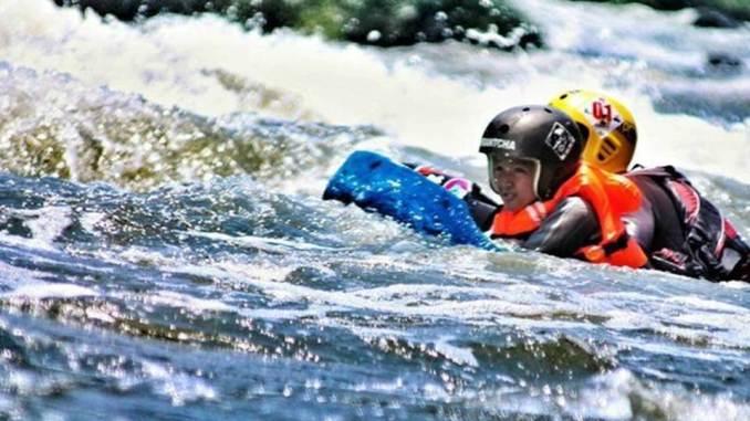 Riverboarding Kali Pusur