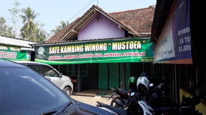 Sate Kambing Winong Mustofa