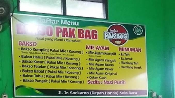 Bakso Pak Bag