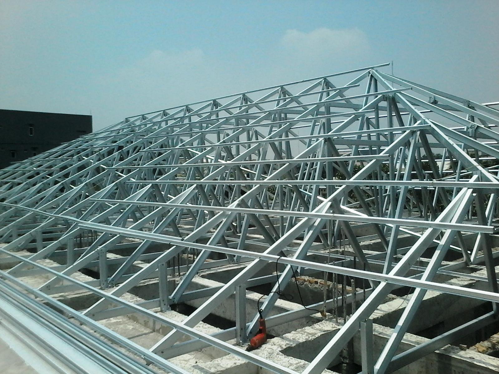 baja ringan jatiasih puskesmas bekasi rangka atap