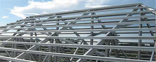 kanopi baja ringan vs kayu rangka atap mana yang anda pilih