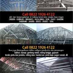 Harga Atap Baja Ringan Asbes Cirebon Call 0852 2405 1143 Rangka