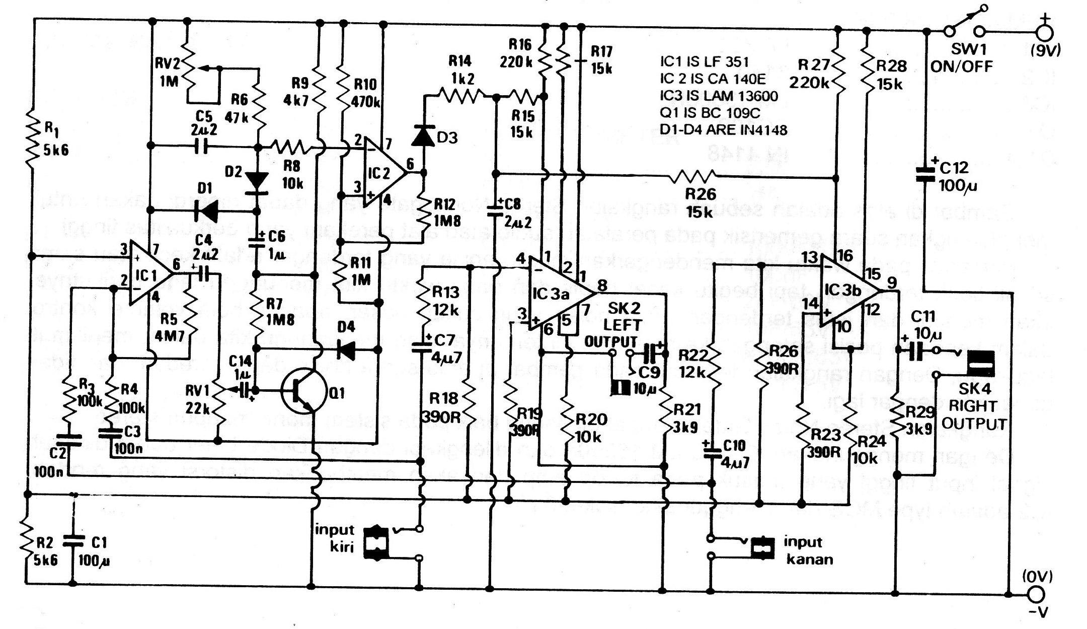 Contoh Penggunaan Voltage Divider Rangkaian Pembagi