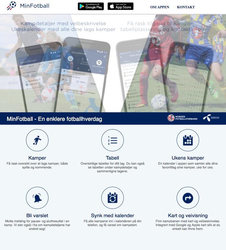 MinFotball