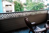 Hot Chai + Cold Balcony