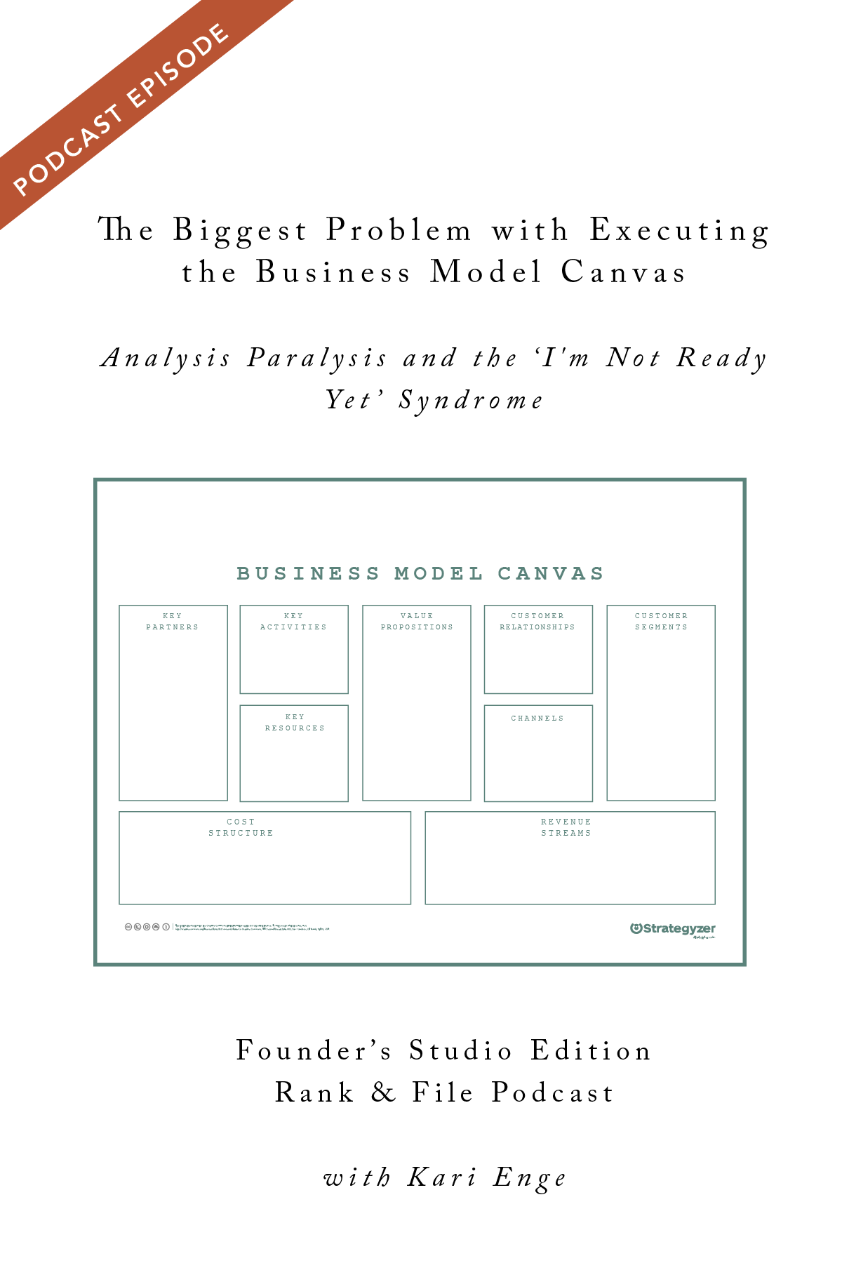 Business Model Canvas Part 3 The Biggest Problem With Executing Your Business Model Analysis Paralysis And The I M Not Ready Yet Syndrome Episode 20 Rank File Magazine