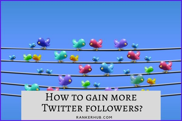 How to gain more Twitter followers?