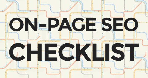 On-page SEO checklist by RankFrog