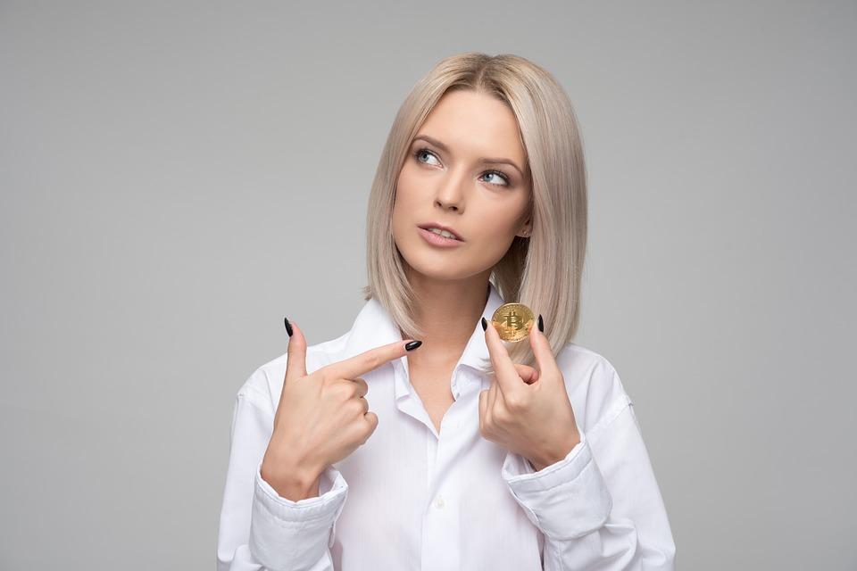 女性コイン画像