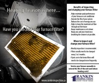 There are many benefits to changing your furnace filter ...