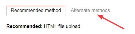 Alternate-Methods-tab
