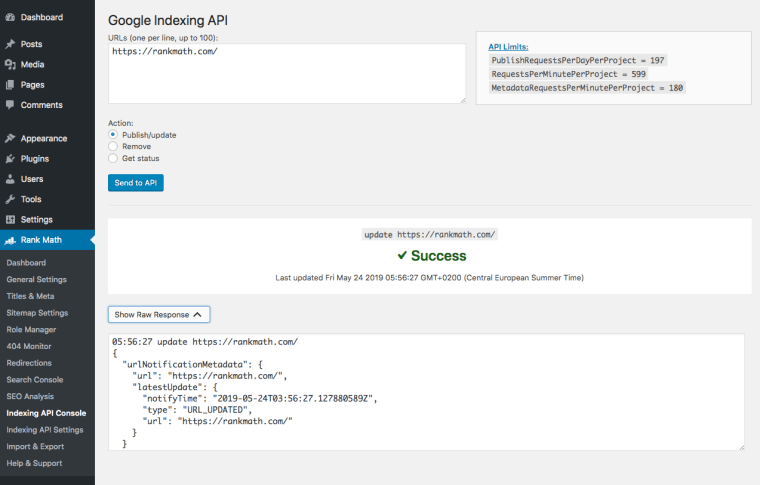 SEO技巧之利用谷歌索引API第一时间抓取新页面 14